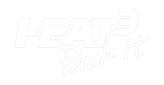 Heat³ - Pack it logo